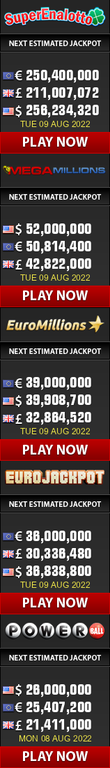 49's Results History - UK Lottery
